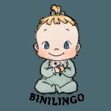 BINILINGO-Logo - Gebärde für Gebärden