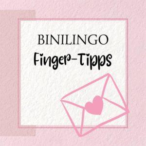 März 2020: BINILINGO Baby- und Kleinkindgebärden: Finger-Tipps