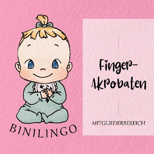 Mein Mitgliederbereich - Die Finger-Akrobaten