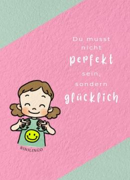 Du musst nicht perfekt vorlesen. Wichtig ist, dass du Spaß und Freude daran hast. Baby- und Kleinkindgebärden unterstützen dich dabei.