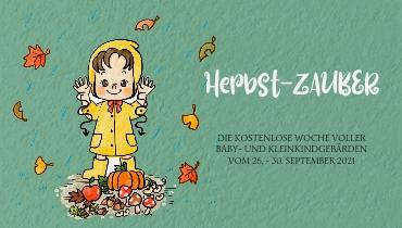 Herbst-ZAUBER - die kostenlose Woche rund um Baby- und Kleinkindgebärden mit passenden Spielideen für den Herbst